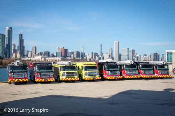Chicago FD squads built by Rosenbauer America