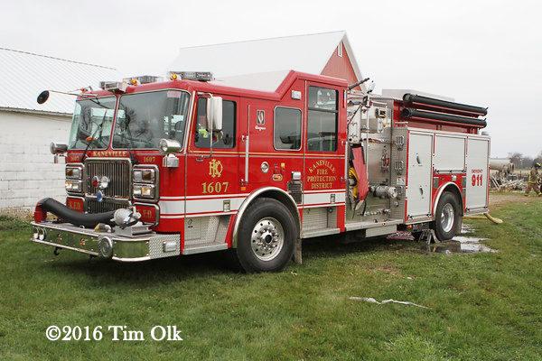 Seagrave marauder II fire engine