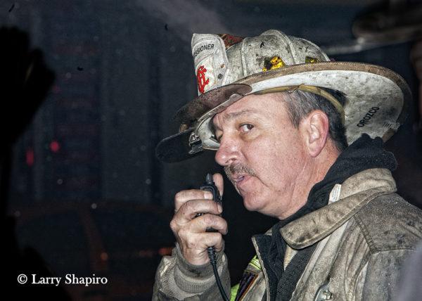 Chicago FD Commissioner Raymond Orozco