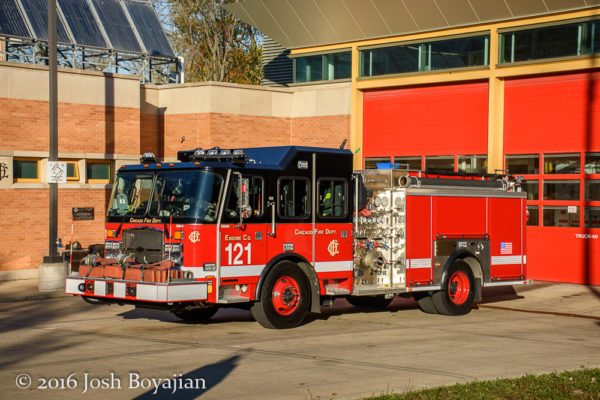 Chicago FD Engine 121