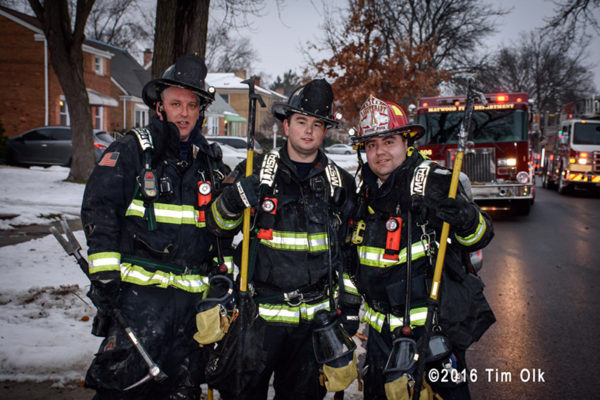 Stone Park firefighters