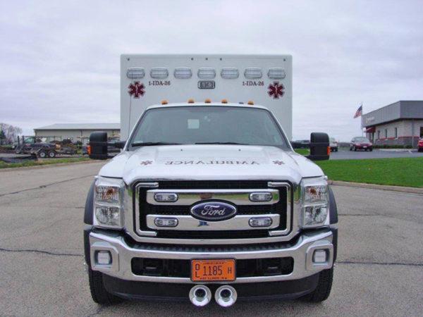 Type I Medix ambulance on Ford F-450 chassis