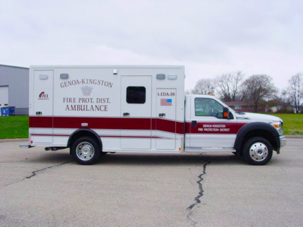 Type I Medix ambulance on Ford F-450 chassis