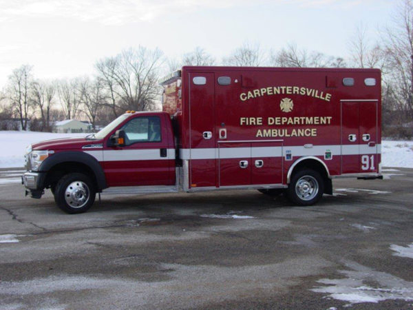 Carpentersville FD Ambulance 91