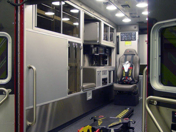 new ambulance interior