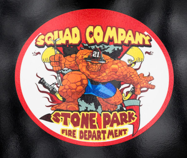 Stone Park FD Squad 21 decal