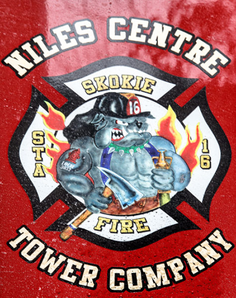 Skokie FD decal