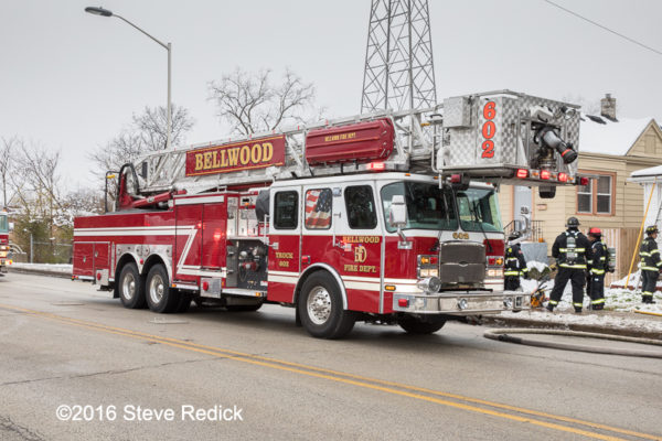 Bellwood Fire Department tower ladder