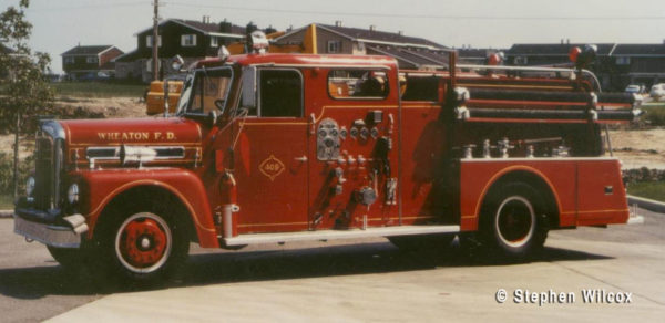 1959 Ward LaFrance fire engine