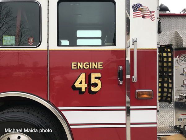 McHenry Township FPD Engine 45