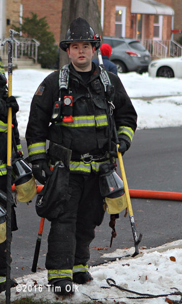 Stone Park firefighter