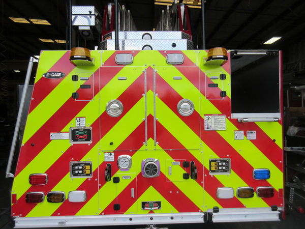 Fire truck being built for the Gurnee FD