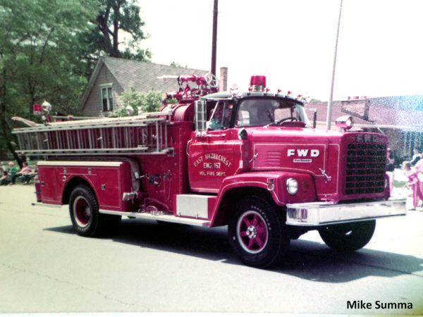 1968 FWD fire engine