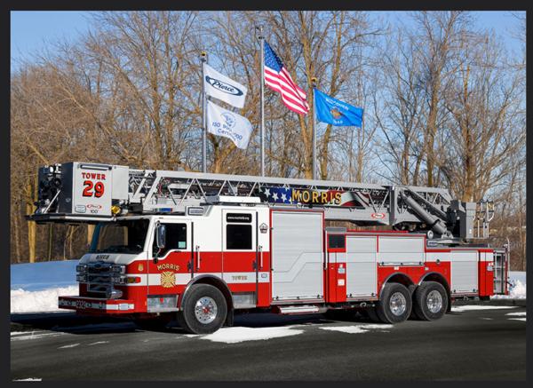 Morris FPD fire truck