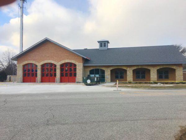 new fire station for the Lockport FPD