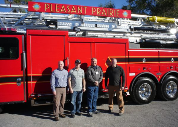 Pleasant Prairie Fire Department buys new fire truck