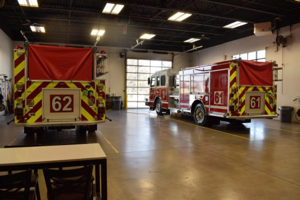 New Rosenbauer fire engine for the Glen Ellyn VFD