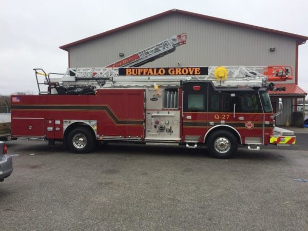new quint for the Buffalo Grove FD