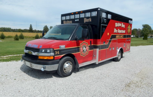Richton Park FD Ambulance 34