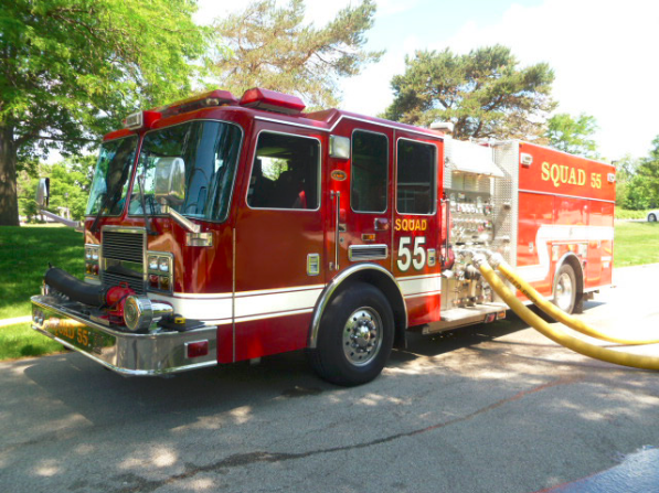 Long Grove FPD fire truck for sale