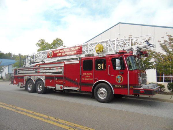 Brooklyn Park VFD fire truck
