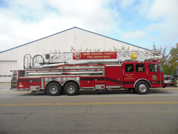 Brooklyn Park VFD fire truck