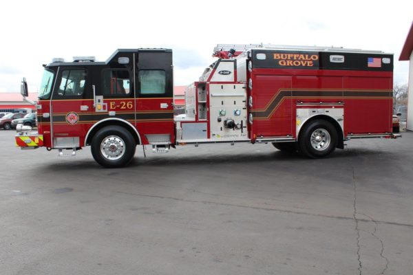Buffalo Grove FD Engine 26 E-ONE Cyclone II