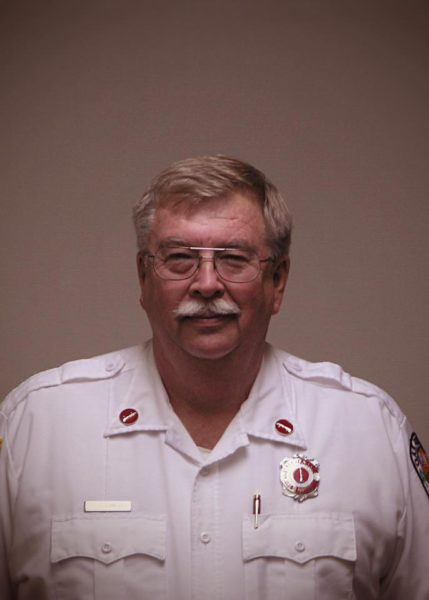 Oak Forest Fire Department retired Lt. Leonard Bonnevier.