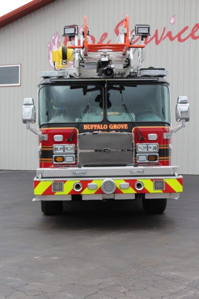 Buffalo Grove FD Quint 27 E-ONE Cyclone II HP78SS