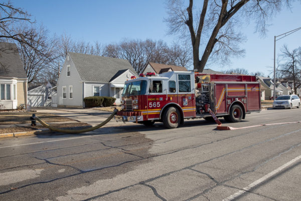 River Grove FD fire engine