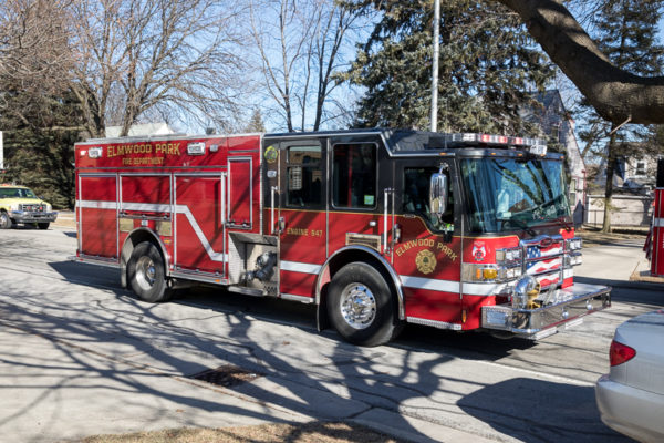 Elmwood Park FD fire engine