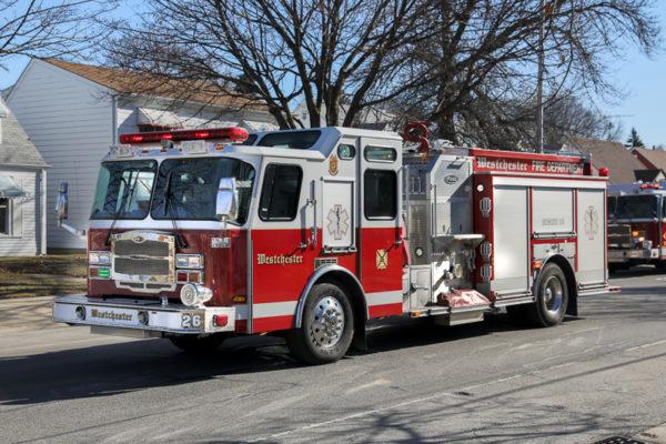 Westchester FD fire engine