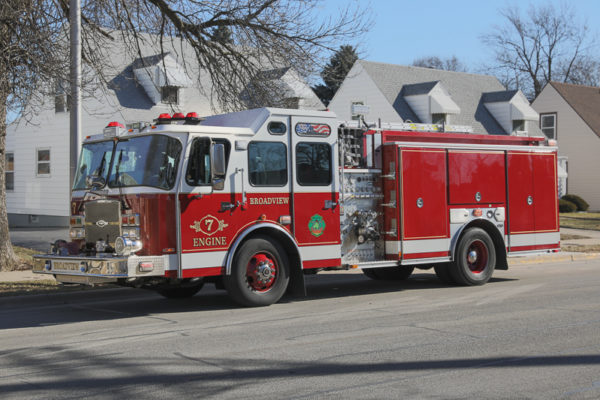 Broadview Fire Department Engine 7