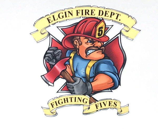 Elgin FD Engine 5 decal