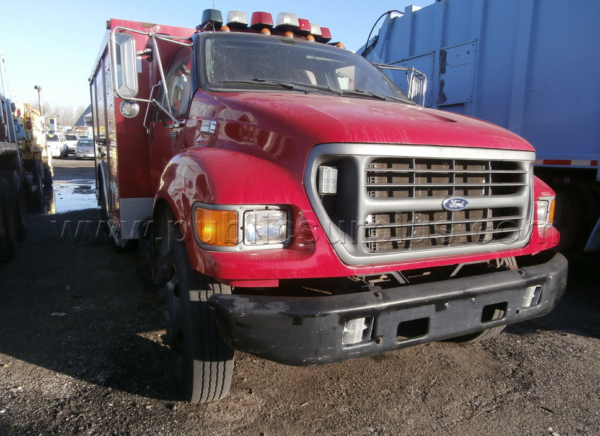 Former Chicago fire truck being sold as surplus