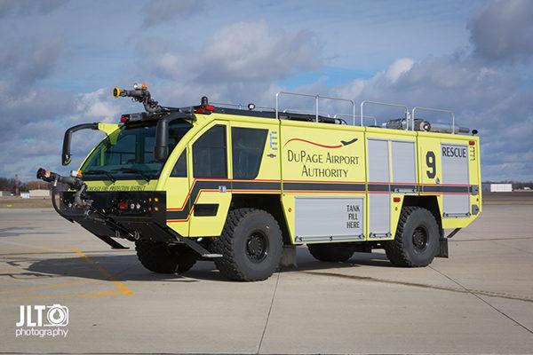 West Chicago FPD Rescue 9 ARFF
