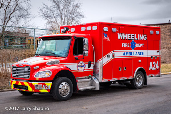 Freightliner M2 ambulance by Horton