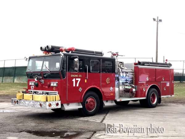 Chicago FD Engine 17 from the movie Backdraft
