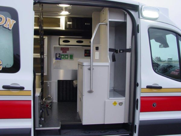Medix ambulance on Ford Transit chassis