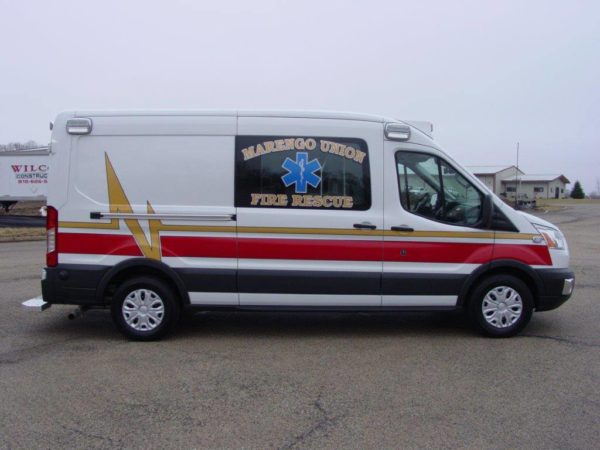 Medix ambulance on Ford Transit chassis