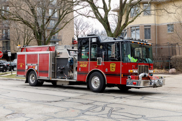 Forest park HME fire engine