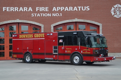 Downers Grove FD receives new fire engine