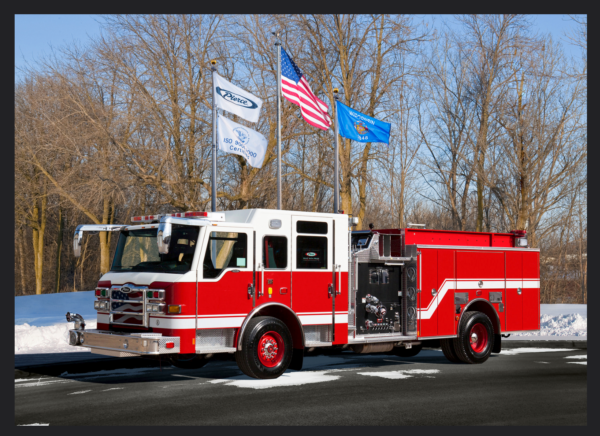 new fire engine for the Melrose Park Fire Department