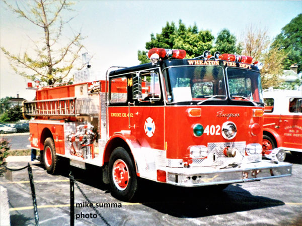 classic Seagrave P-Series fire engine