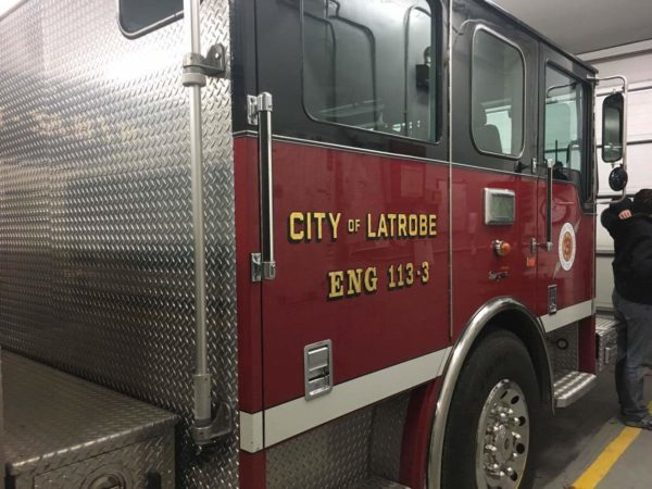 City of Latrobe (PA) Fire Department Station 113-3 Engine 3