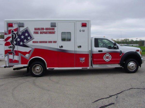 Harlem-Roscoe FPD Ambulance