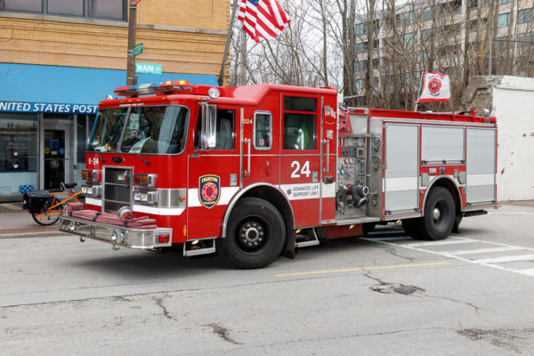 Evanston FD Engine 24