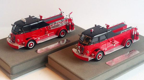 Fire Replicas models - Chicago FD Autocar Squads 3 and 4