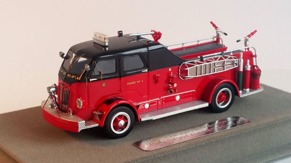 CFD Autocar Squad 4 replica model