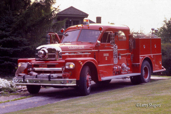 Seagrave anniversary series fire engine